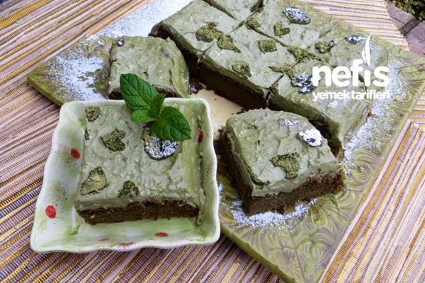 Yeşil Çaylı Şifon Kek (Matcha Cake) Tarifi