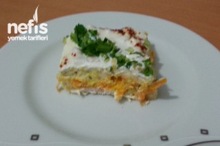 Labneli Garnitürlü Etimek Salatası Tarifi