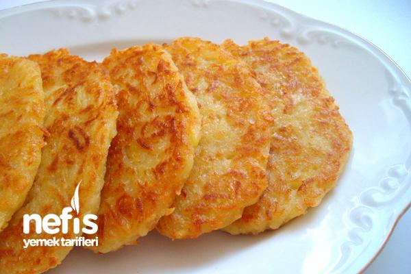 Kaşarlı Patates Mücver Tarifi