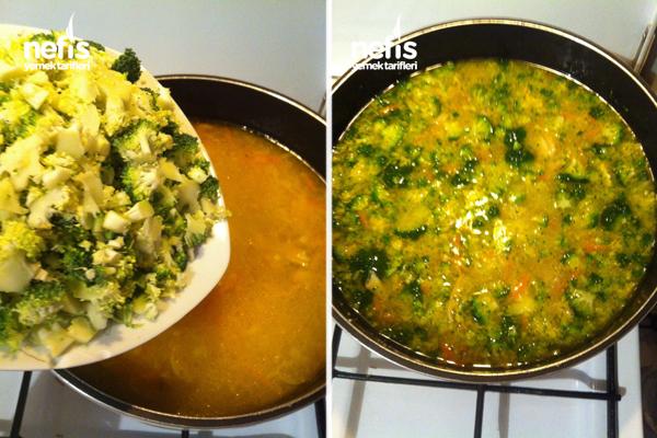 Tavuklu Sebzeli Kış Çorbası 4