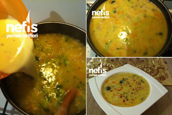 Tavuklu Sebzeli Kış Çorbası 5