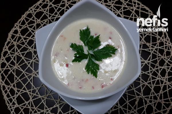 Kremalı Sütlü Sebze Çorbası Tarifi