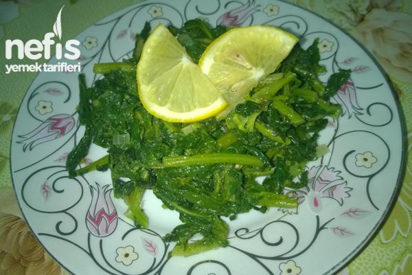 Turp Otu Salatası Tarifi