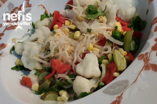 Atıştırmalık Salata Tarifi