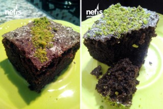 Bol Bitter Çikolatalı Pratik Brownie Tarifi