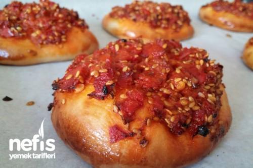 Duble Acılı Ekmek Tarifi Videosu 14