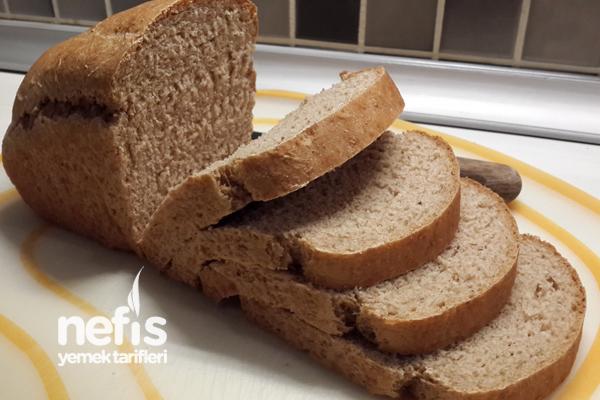 El Yapımı Tam Buğday Ekmeği