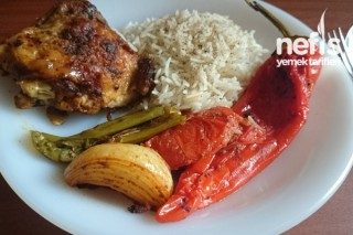 Fırında Soslu Baharatlı Tavuk (Kalça Pirzola) Tarifi