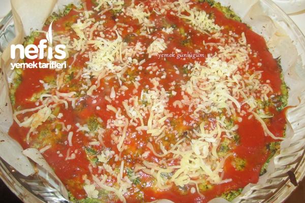 Hamursuz Brokoli Pizzası 3