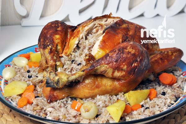İç Pilavlı Tavuk Dolması Nasıl Yapılır?