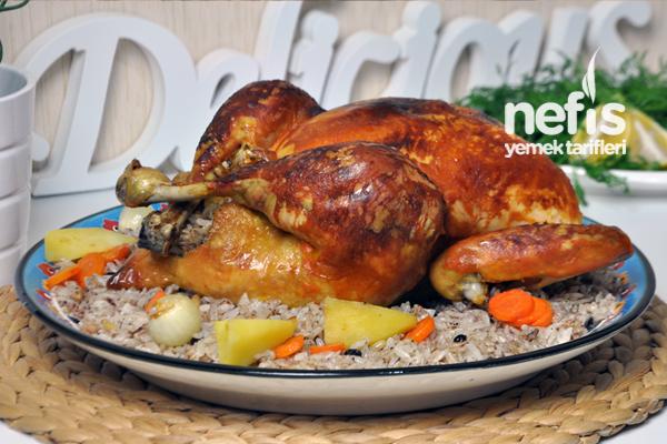 İç Pilavlı Tavuk Dolması Nasıl Yapılır? 2