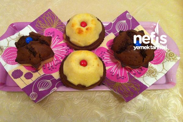İki Renkli Muffin 1