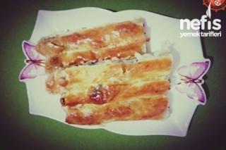 Ispanaklı Kol Böreği Yapımı Tarifi