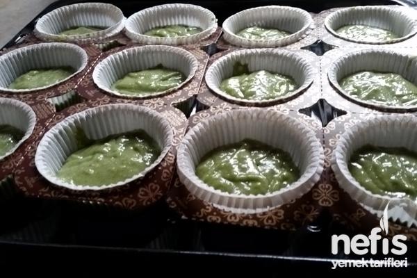 Ispanaklı Muffin