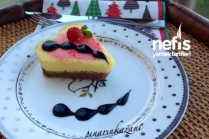Kalpli Mini Cheesecake Tarifi