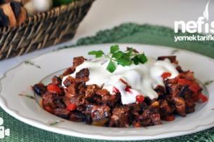 Yoğurtlu Kuru Patlıcan Salatası Nasıl Yapılır?