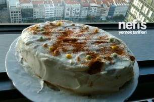 Labneli Beyaz Pasta Tarifi