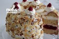 Labneli Frambuazlı Pasta Tarifi