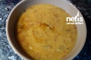 Patlıcanlı Mercimek Çorbası Tarifi