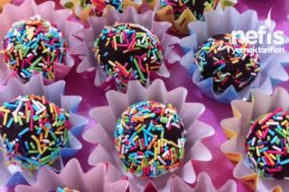 Renkli Şekerli Toplar Tarifi