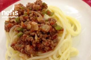 Spagetti Bolonez Yapımı (Spaghetti Bolognese) Tarifi