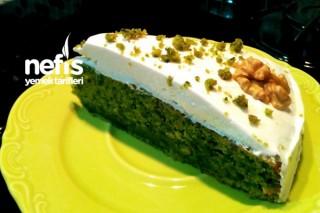 Yeşilin En Güzel Hali Ispanaklı Kek Tarifi