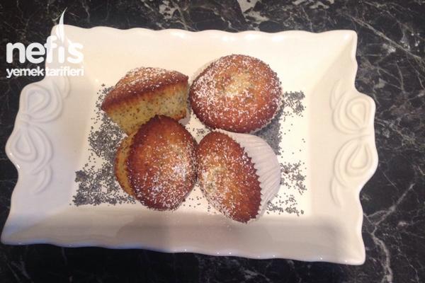 Zitronen Mohn Muffin Tarifi