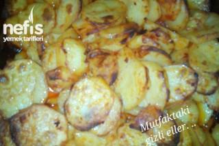 Fırında Kahvaltılık Patates Tarifi