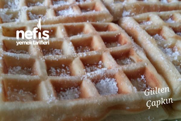 Kahvaltılık Kakaolu ve Sade Waffle 2