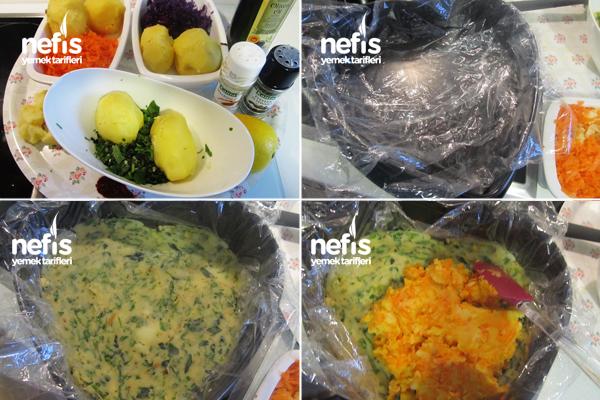 Gökkuşağı Patates Salatası 1