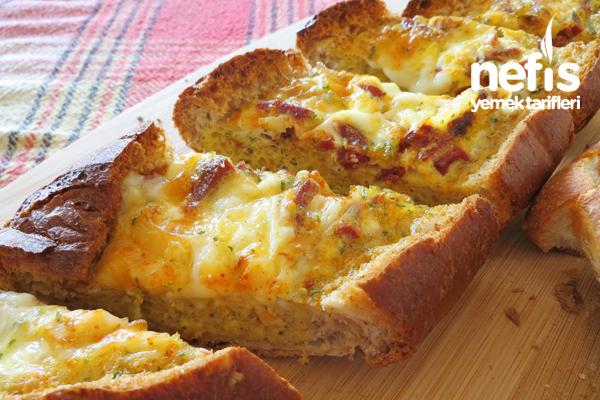 Yumurtalı Kayık Ekmek Tarifi