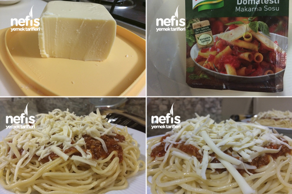 Bolonez Soslu Kıymalı Spagetti 1