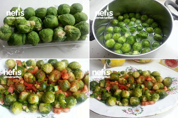 Brüksel Lahanası Salatası 2