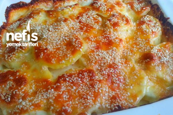 Fırında Kremalı Patates 1