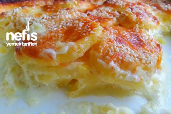Fırında Kremalı Patates 4