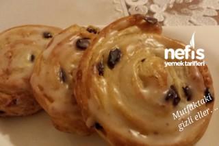 Üzümlü Çörek (Rosinenschnecke ) Tarifi