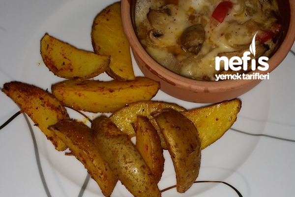 Fırında Kabuklu Patates Tarifi