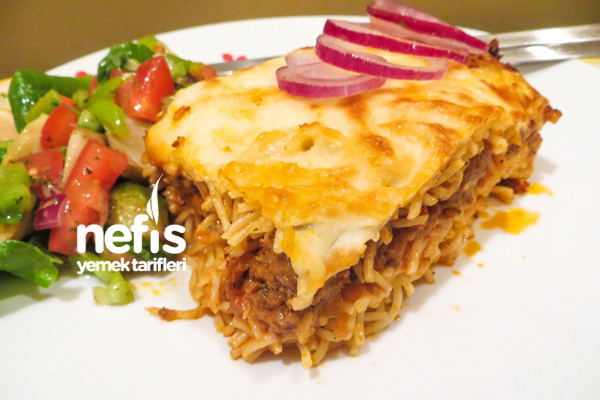 Spaghetti Lazanya Tarifi