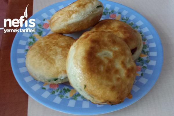 Kahvaltılık İçli Hamur Kızartması