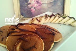 Portakal Kabuklu Pancake Tarifi