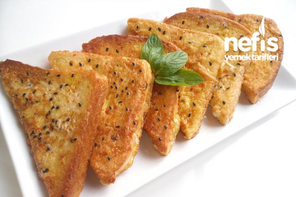 Çörek Otlu Yumurtalı Ekmek Kızartması Tarifi