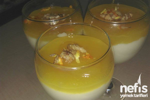 Portakallı Muhallebi