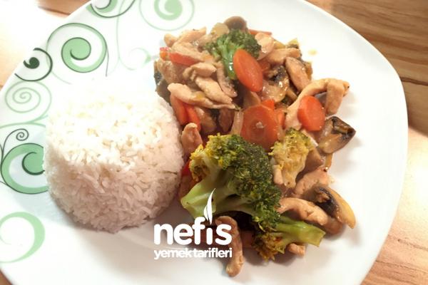 Tavuklu Çin Yemeği (Chinesisch) Tarifi