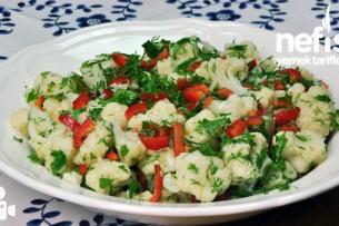 Karnabahar Salatası Nasıl Yapılır?