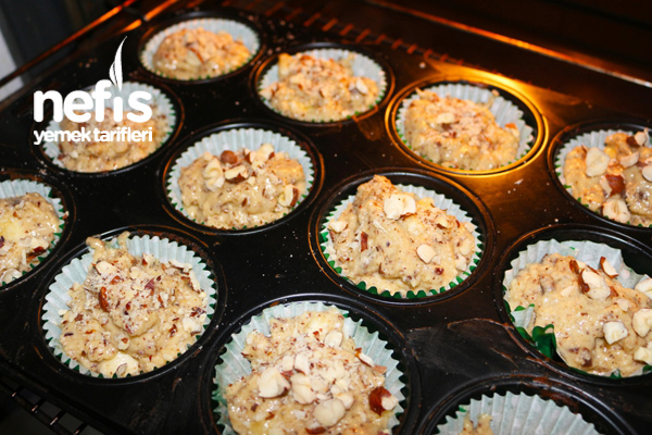 Muzlu Yoğurtlu Muffins 2