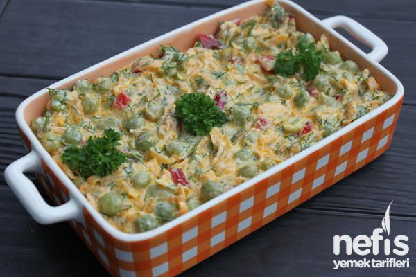 Bezelyeli Havuç Salatası (videolu)