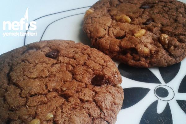 Cookie Tarifi (Damla Çikolatalı & Cevizli)