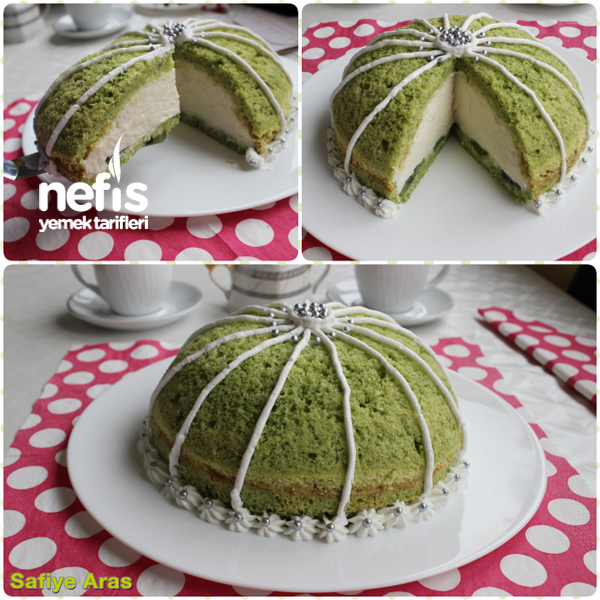 Ispanaklı Köstebek ( Kümbet ) Pasta 3