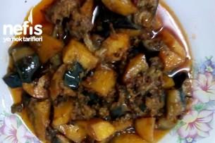 Kıymalı Patates Ve Patlıcan Kızartması Tarifi