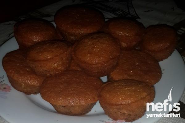 Cevizli Muffin Kek Tarifi